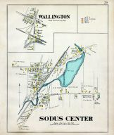 Wallington, Sodus Center, Wayne County 1904